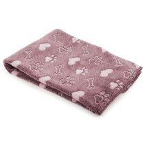 Sleepy Paws Dog & Cat Comfort Blanket Pink 74x74cm