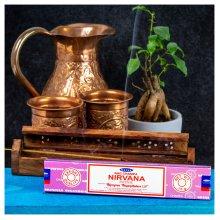 Satya Incense Sticks, Black, NIRVANA 12 Pack