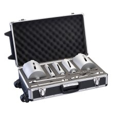Bosch 11 Piece Diamond Core Set in wheeled Case