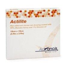Actilite Manuka Honey Non-Adherent Viscose Net Dressing 5cm x 5cm - 5