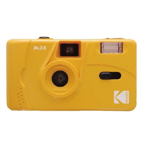 (Yellow) Kodak Vintage Retro M35 Reusable Film Camera