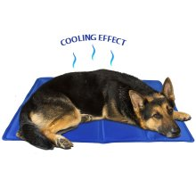 Cool Gel Pet Mat Dog Cat Bed Non Toxic Summer Heat Relief Cushion Pad 60x44cm