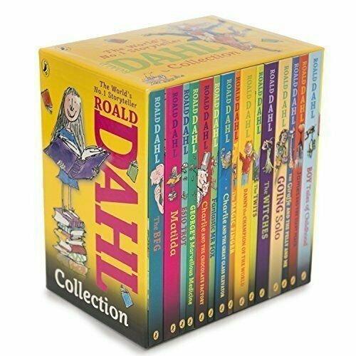 Roald Dahl Collection 15 Books Children Box Set