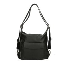 37x29x13 cm - Hobo / backpack Leather Bag - Made in Italy