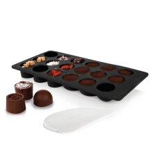 BOSKA Holland 320406 Choco Bon Maker Chocolate Mold, Silicone, Kit
