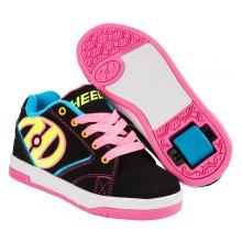 Heelys Propel 2.0 Children's & Senior HX1 Girls Skating Shoes Black Neon Multi 770512