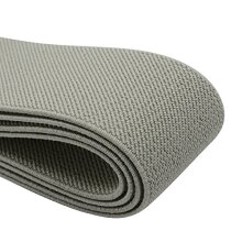 iCraft 15-Inch Wide Colored Double-Side Twill Woven Elastic2 YardsGrey 32130