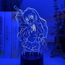 Led Night Light Toradora Taiga Aisaka Bedroom Decor Gift