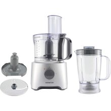 Kenwood FDP301S Silver Multipro Home Food Processor and 800W 2.1L 1.5L Blender