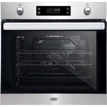 Belling BI602MFPY Built In Electric Single Oven - Stainless Steel