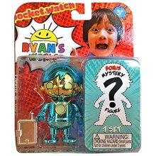 Ryans World - cobalt Robo Ryan Figure and Bonus Mystery - collect Them All!