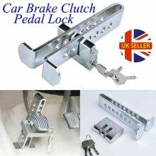 CAR STAINLESS BRAKE CLUTCH PEDAL LOCK WHEEL ANTI-THEFT LOCK SECURITY