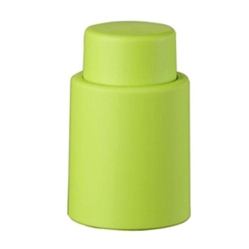 Visol VAC380GR Vacustopper Green Rubberized Wine Stopper Pump