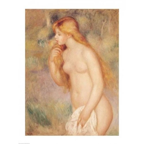 Standing Bather 1896 Poster Print by Pierre-Auguste Renoir - 18 x 24 in.