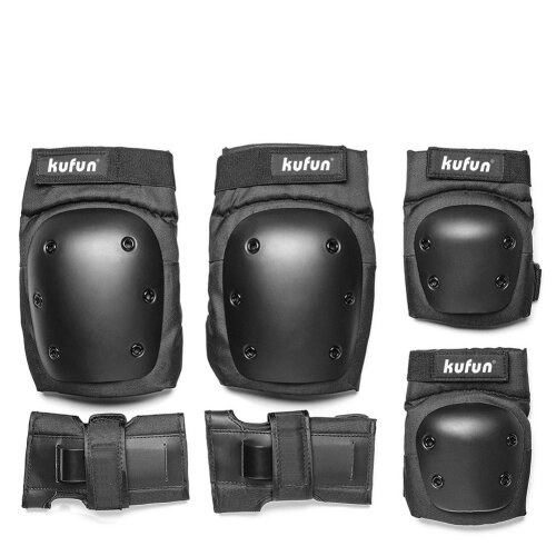 Knee Pads Set Protective Gear Set with Knee Elbow Wrist Pads for Kid Children Teenager Adult for Rollerblading Skating Biking Cycling,Skateboard