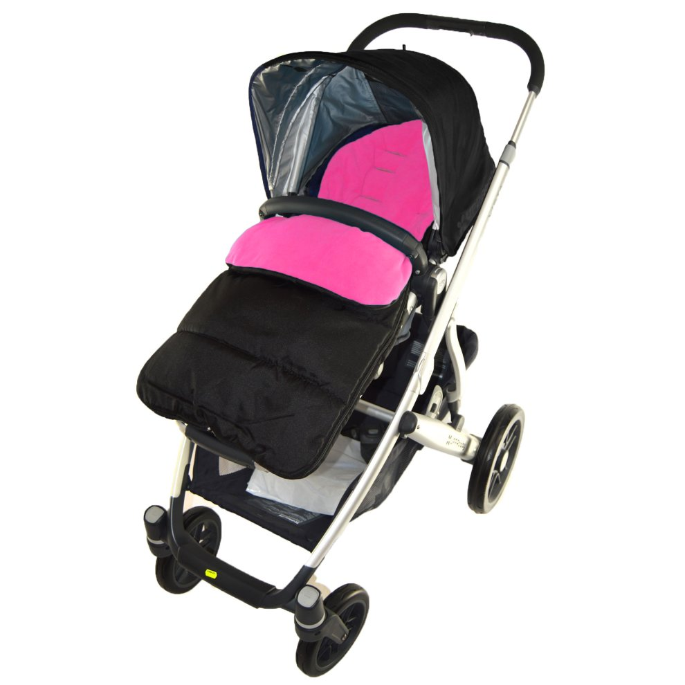 Light Pink Footmuff//Cosy Toes Compatible with Mountain Buggy Terrain