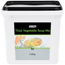 Country Range Thick Vegetable Soup Mix - 1x2.25kg