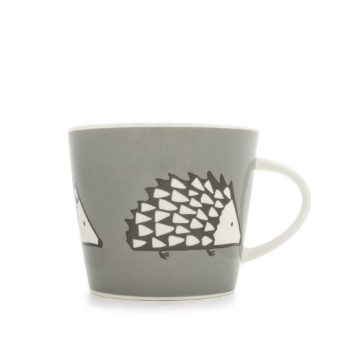 Scion Spike Mug, Grey, 0.35 Litre
