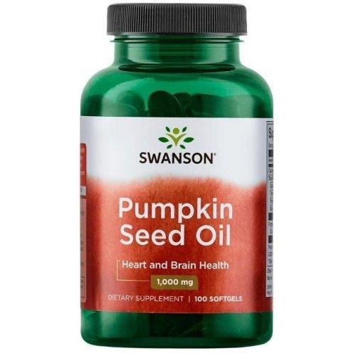 Swanson  Pumpkin Seed Oil, 1000mg  - 100 softgels