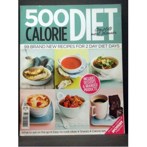 500 Calorie Diet Book On Onbuy