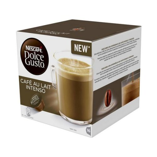 Coffee Capsules Nescafé Dolce Gusto 45831 Café Au Lait Intenso (16 uds)