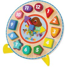 Hey Duggee 9039 Puzzle Clock with Stand, Multi