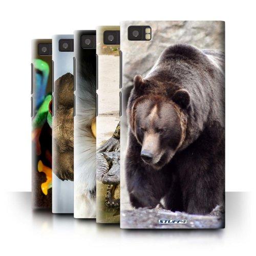 Wildlife Animals Xiaomi Mi 3 Phone Case Transparent Clear Ultra Slim Thin Hard Back Cover for Xiaomi Mi 3
