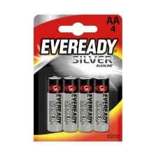 EVEREADY SLVR ALKAL AA/R03 PK4