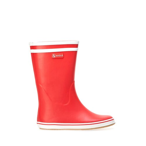 Aigle Women's Malouine Wellington Wellie Boots, in Red, Size UK 5.5