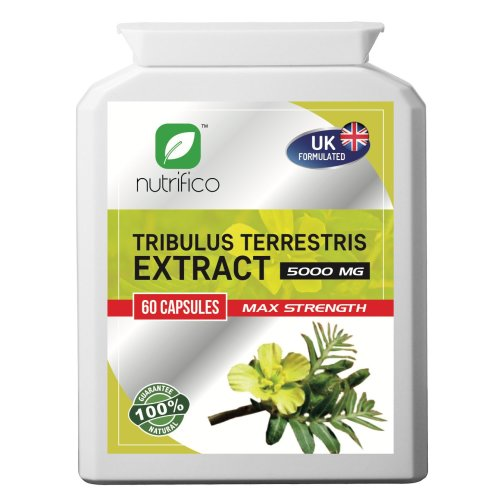 Tribulus Terrestris 10:1 5000mg High Strength Concentrated Pills