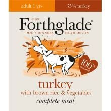 Forthglade Complete Meal Adult Turkey with Brown Rice & Vege - 395g - 272334
