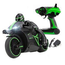 2.4G 4CH Mini RC High Speed Drift Motorbike Motorcycle Model with Light Kids Toy