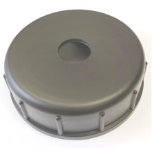 Large Black Cap for Waterhog 51l Container (with hole)