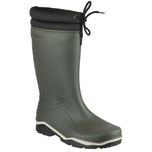 (40 EUR, GREEN) Dunlop Blizzard Unisex Mens/Womens Winter Wellington Boots