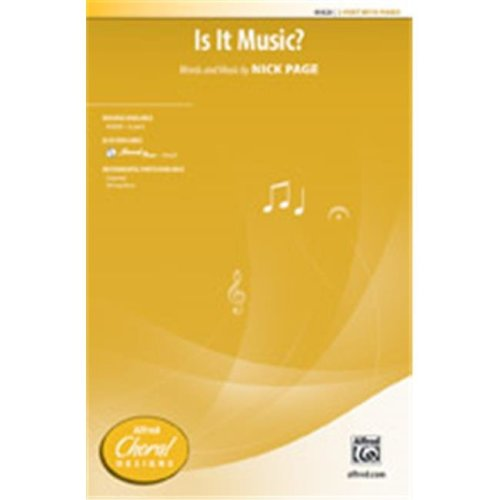 Alfred 00-45620 Is It Music