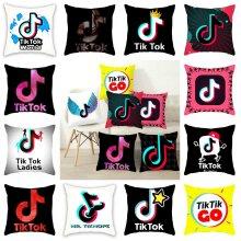 18inch Tiktok Cushion Cover Soft Pillow Throw Case