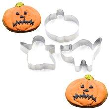TRIXES Halloween Cookie Cutters   Halloween Baking Tools