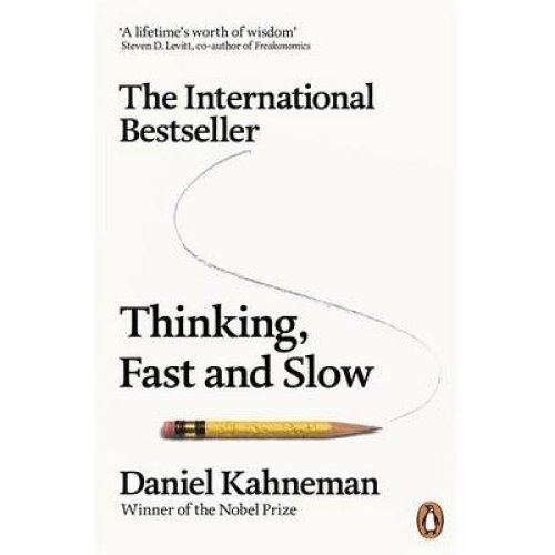 Thinking Fast And Slow - Daniel Kahneman | Non-Fiction Psychology Book