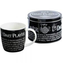 Dart Player Mug In A Tin