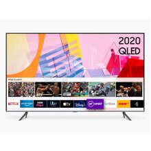 "Samsung QE65Q65T (2020) 65"" SMART 4K Ultra HD HDR QLED TV TVPlus - Refurbished"