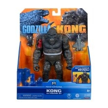 """Monsterverse Godzilla vs Kong 6"""" Hollow Earth Kong with Fighter Jet"""