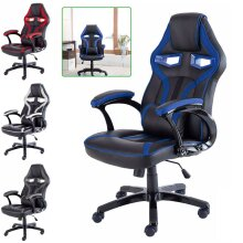 PU Leather Sport Racing Car Gaming Office Chair