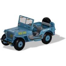 Corgi Mim - Willys Jeep - Seebees