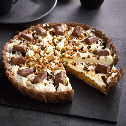 Sidoli Frozen Toffee Flavour Crunch Pie - 1x14p/ptn