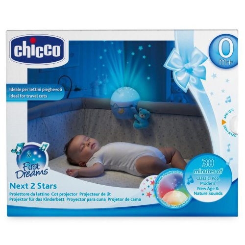 Chicco Blue Next2 Stars | Baby Night Light & Projector