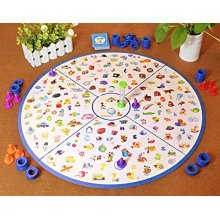 deAO Detective Looking Chart Memory Picture Matching Game Set for Children Family Board Game