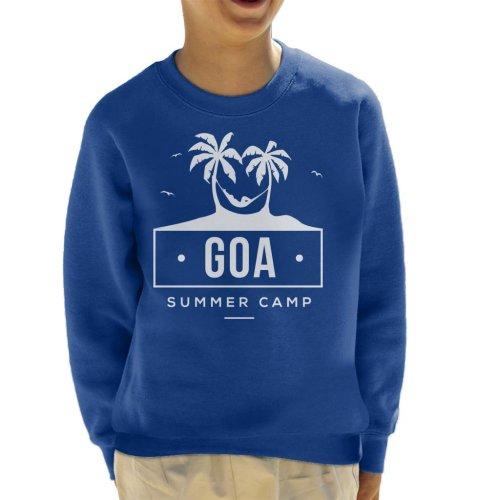 (X-Small (3-4 yrs), Royal Blue) Goa Summer Camp Kid's Sweatshirt