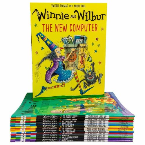 Winnie and Wilbur Series 16 Books Bag Collection Set