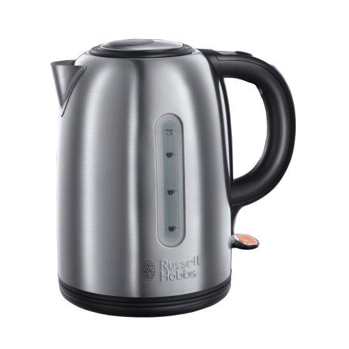 Russell Hobbs 20441 1.7L Snowdon Kettle - Silver | Rapid Boil Kettle
