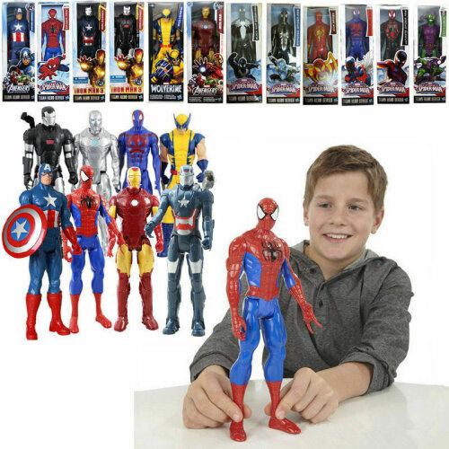 Marvel Avengers 12 inch Action Figures Titan Hero Series Children Toys Kids M